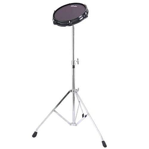 DIXON Kinde 8吋爵士鼓靜音練習網狀鼓皮 打點板 打擊板 含腳架 [唐尼樂器]