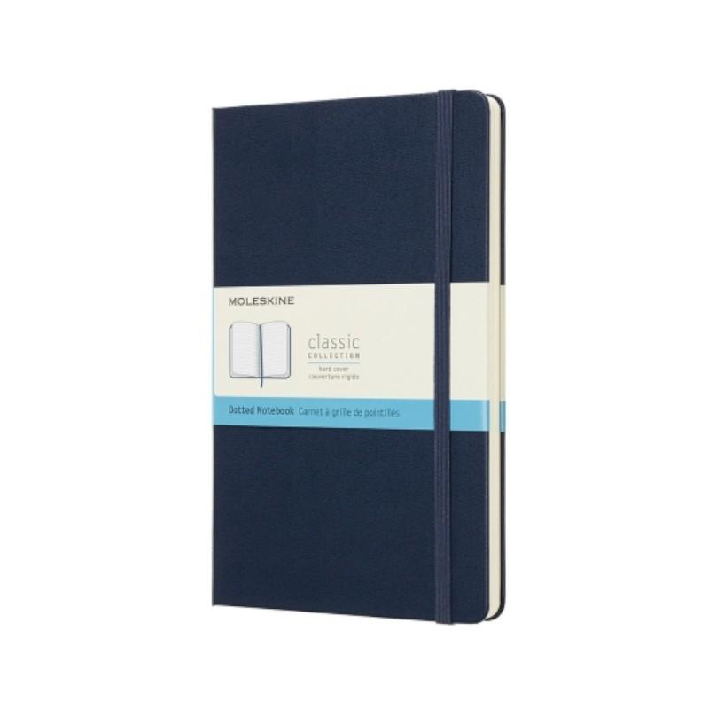 MOLESKINE 經典寶藍色軟皮筆記本-L型空白