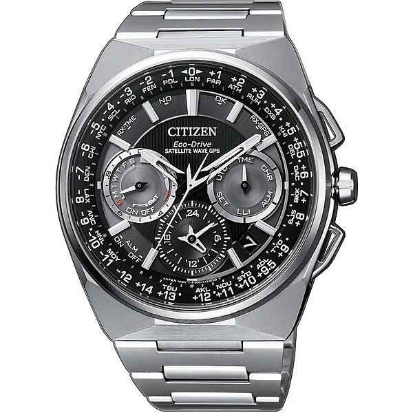 CITIZEN 星辰GPS衛星對時鈦金屬限量腕錶CC9009-81E
