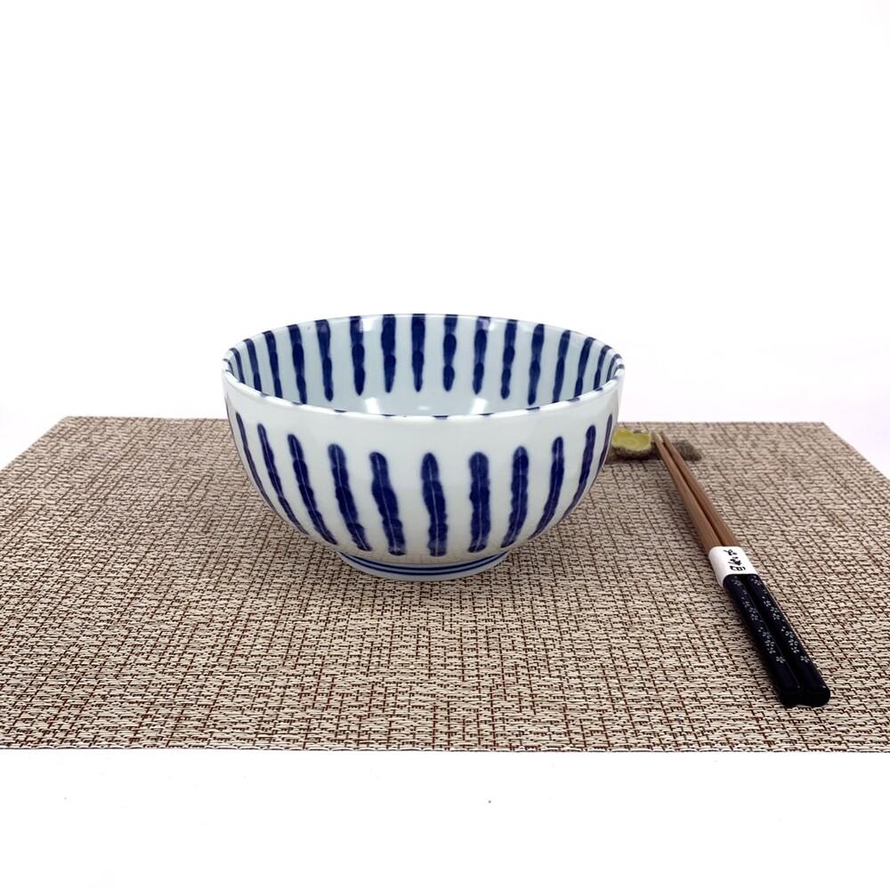 日本美濃燒麵碗 濃十草xl