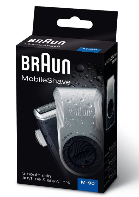 -=德國百靈=- 百靈 BRAUN 電池式刮鬍刀 M90 M60