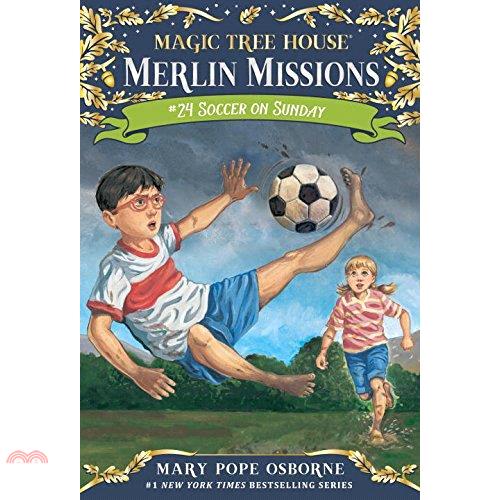 Merlin Mission #24: Soccer on Sunday (平裝本)【三民網路書店】[73折]