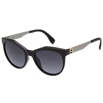 FENDI時尚太陽眼鏡 黑色 FF0049S