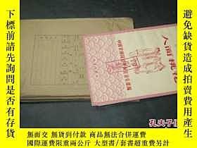 二手書博民逛書店京劇曲譜罕見人面桃花 印刷樣本6713 中國京劇院總導演室音樂組