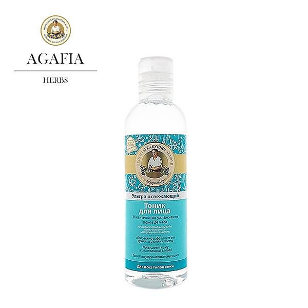 俄羅斯 Agafia 阿卡菲老奶奶 補水保濕爽膚水 200ml 化妝水【PQ 美妝】