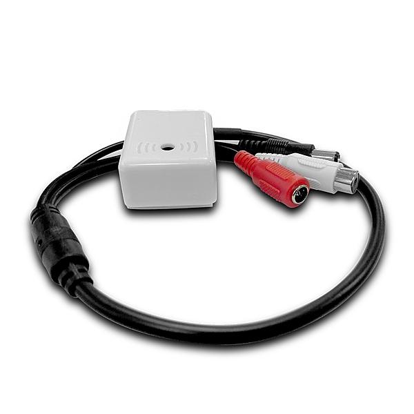 全視線 監控系統專用高階高感度可微調麥克風