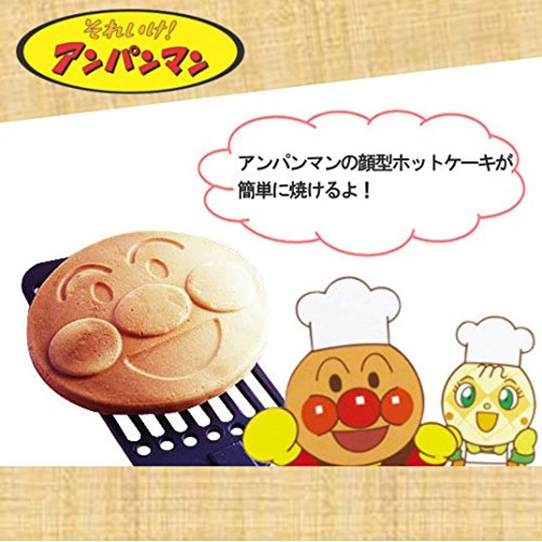 日本鍋具 日製麵包超人鬆餅烤盤烘焙模具蛋餅平底鍋鬆餅鍋直火點心036951