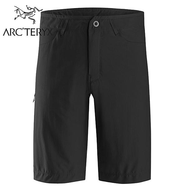 【ARC TERYX 始祖鳥 男 Creston 彈性短褲《黑》】23024/休閒短褲/運動短褲