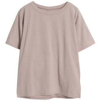 (Rejoule/リジュール)2020新作 TC天竺 バックツイストTシャツ/レディース グリーン