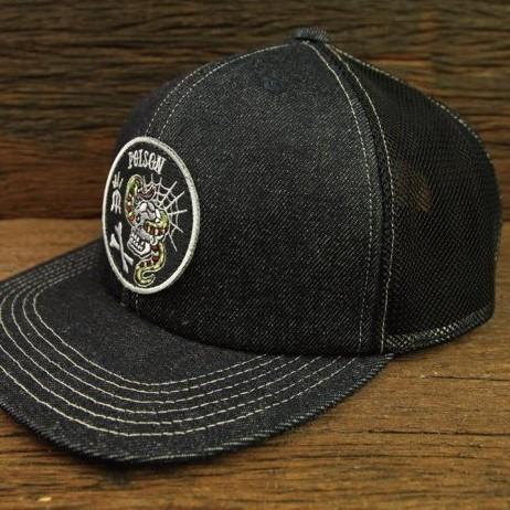 【METALIZE】 POISON 復古單寧卡車司機帽 官方直營店鋪