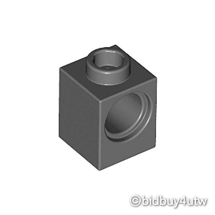 LEGO零件 科技磚 1x1 6541 深灰色 4210639【必買站】樂高零件