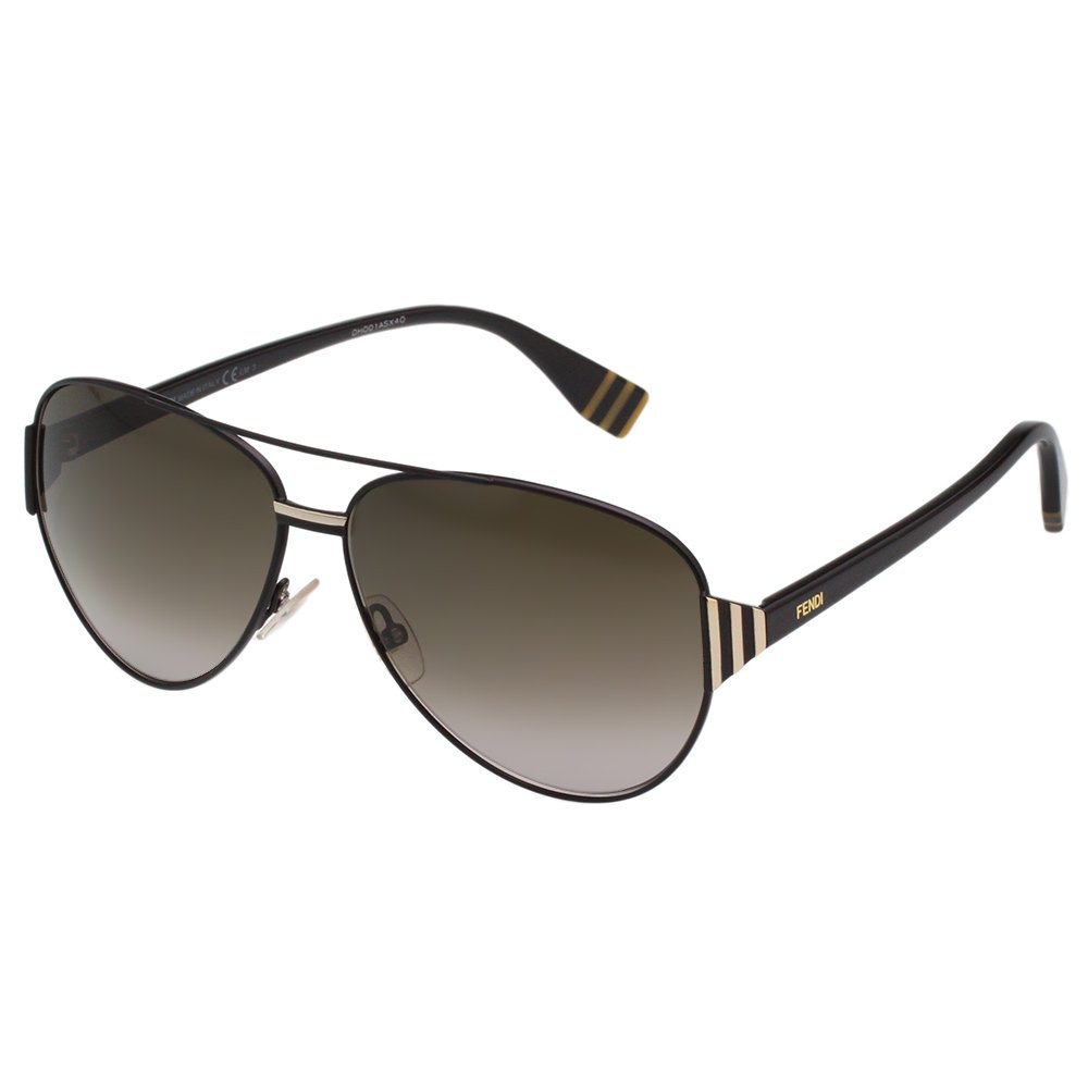 FENDI雷朋造型太陽眼鏡 黑配金 FF0018S-7SD