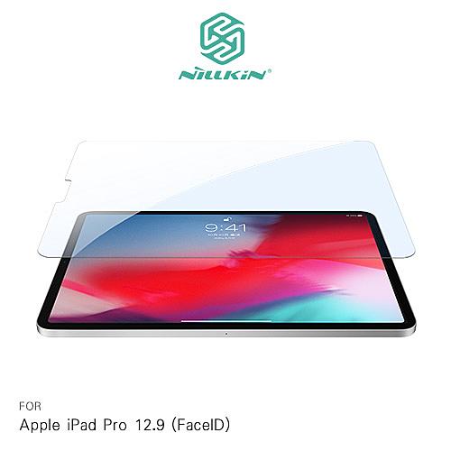 摩比小兔~NILLKIN Apple iPad Pro 12.9 (FaceID) Amazing V+ 抗藍光玻璃貼 保護貼