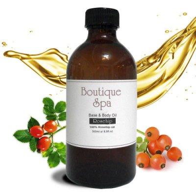 贈香氛手工皂60g 1個【 Boutique spa 玫瑰果油 】肌膚的青春之露300ml~智利美女從小必備的保養聖品!