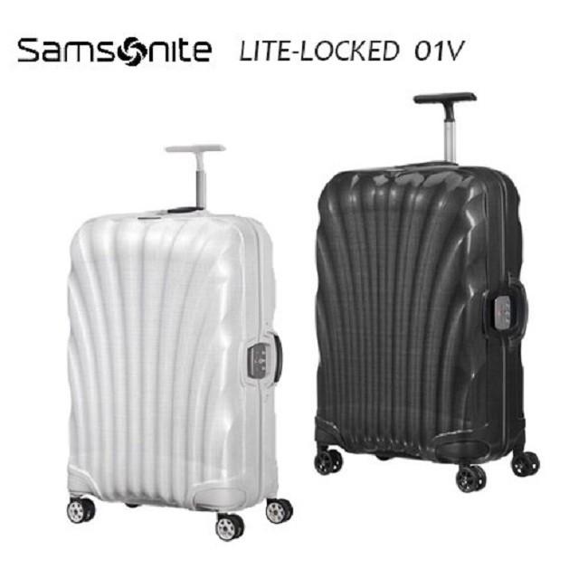 Samosnite新秀麗Lite-locked FL 01V 25吋行李箱Curv® 材質新升級版雙軌輪置衣隔板+贈好禮
