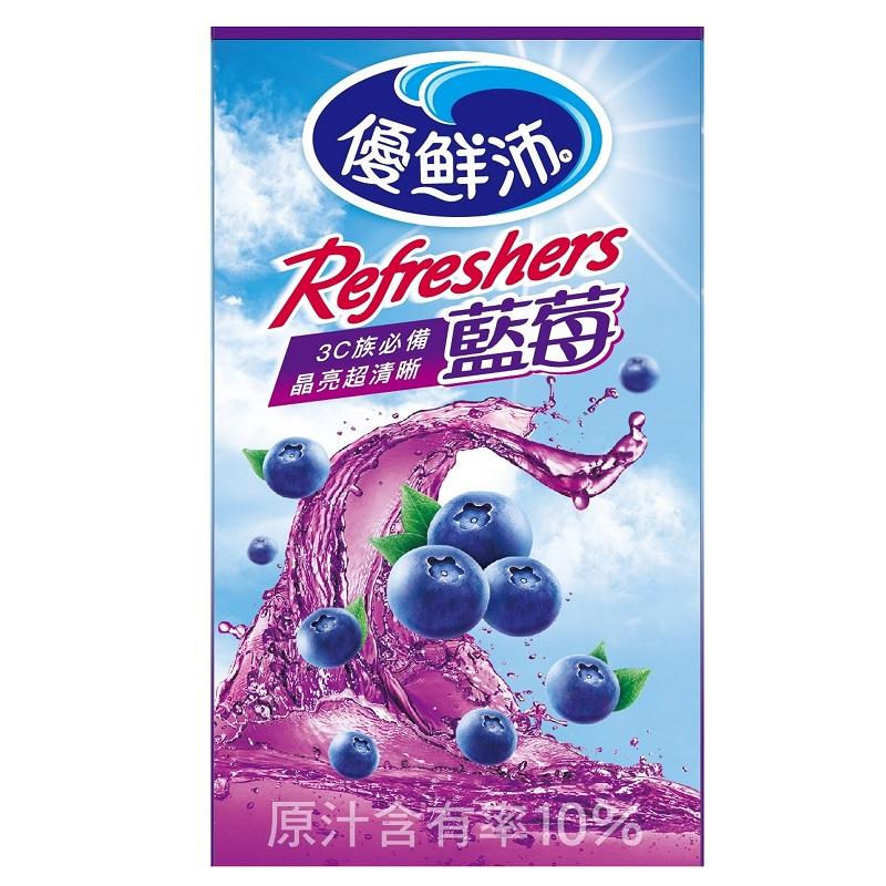 優鮮沛藍莓綜合果汁飲料-250ml