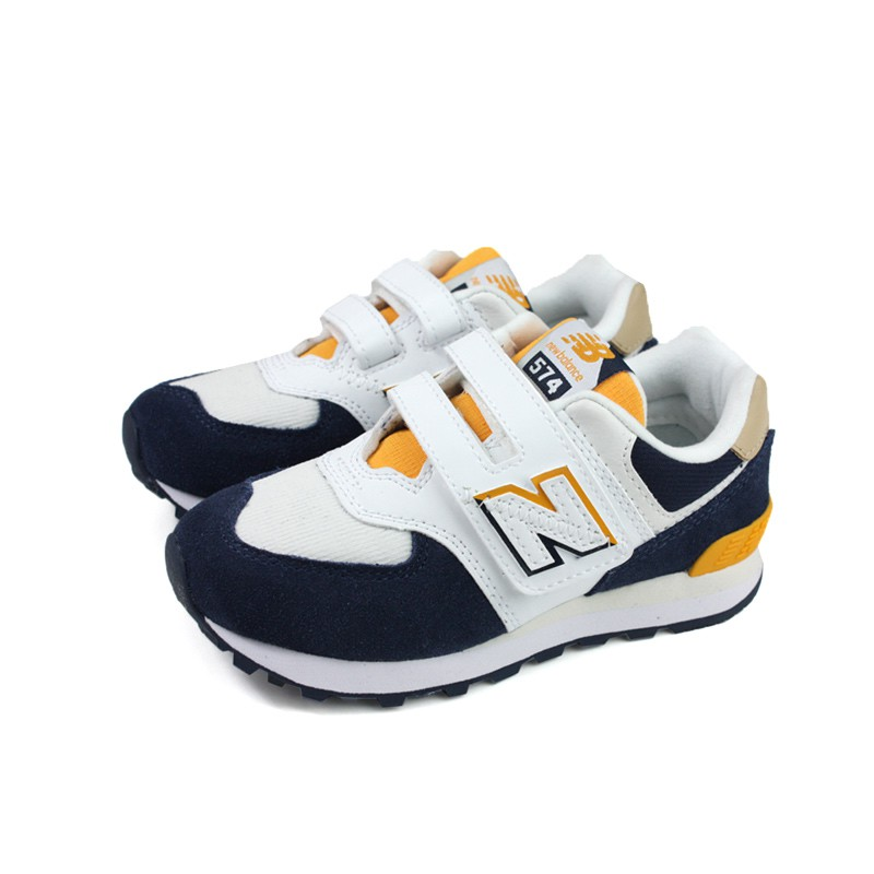 New Balance 574系列 運動鞋 白/深藍 童鞋 YV574SUR-W no769 17~23.5cm