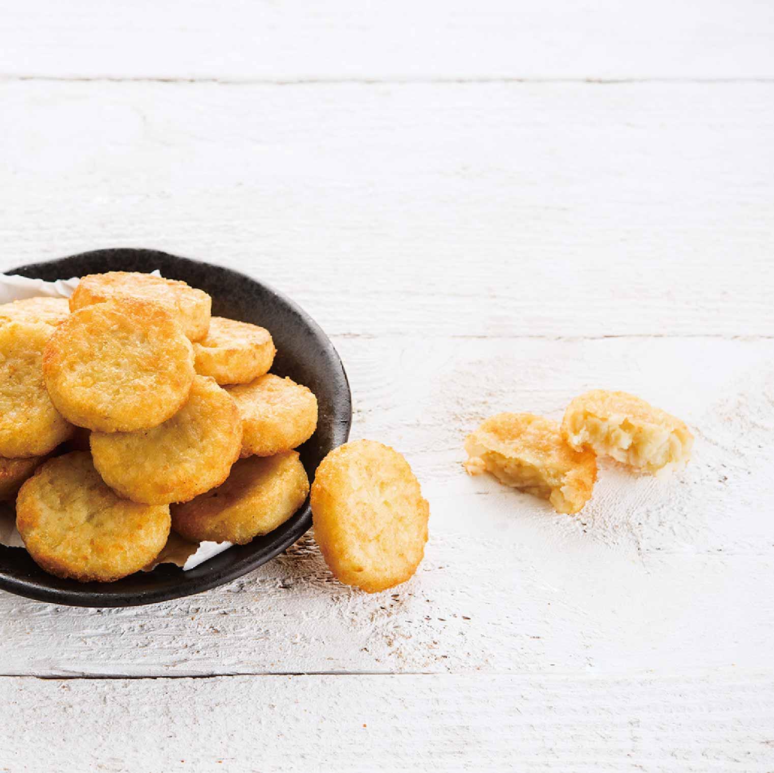 【晉元生鮮美食專賣店】ESTAR洋蔥味圓形薯餅【十片】