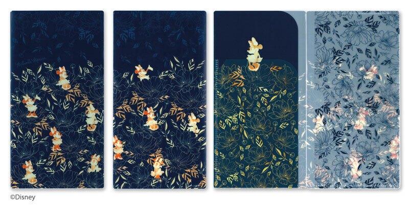 日本製 迪士尼 口罩三層收納夾/多功能收納夾(藍色米妮)*夏日微風*