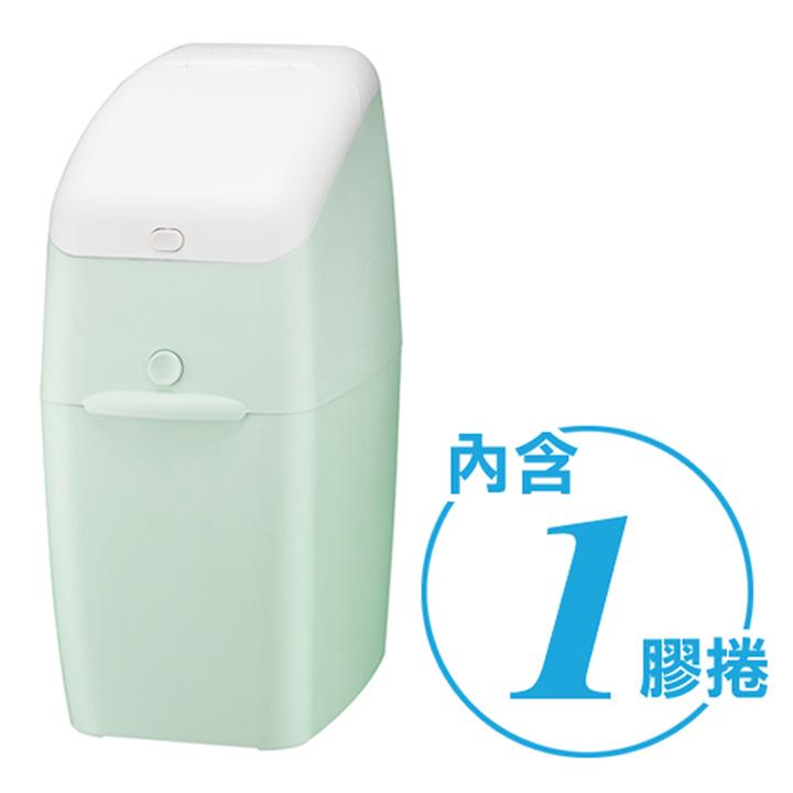 Aprica 愛普力卡 NIOI-POI 強力除臭抗菌尿布處理器-薄荷綠
