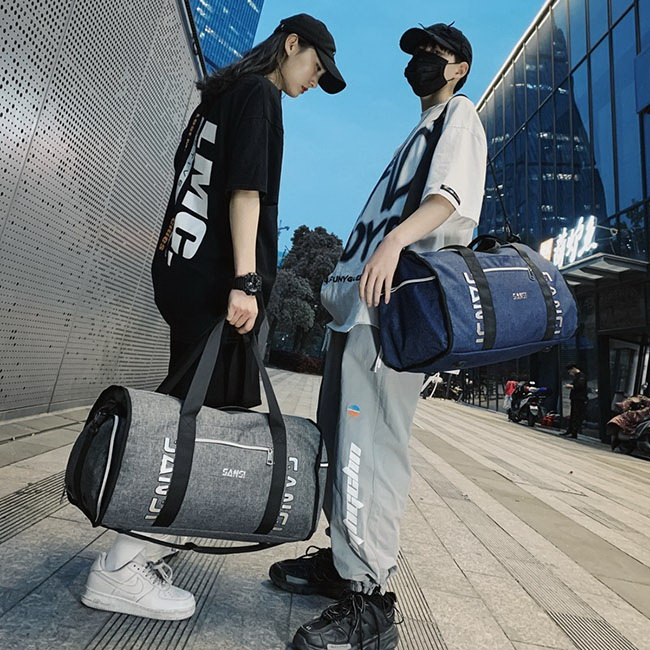FOFU-旅行包健身收納洗漱便攜大容量短途旅行包【08B-T0145】