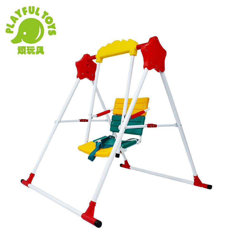 【Playful Toys 頑玩具】單人鞦韆 (庭園盪鞦韆 DIY組合 室內室外 台灣製造)