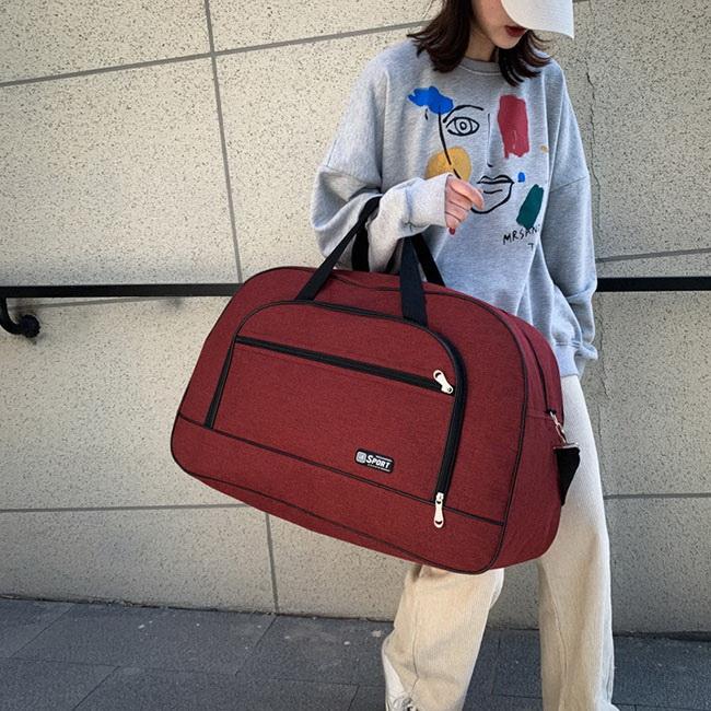FOFU-旅行包韓版手提大容量商務健身包行李旅行包【08B-T0141】
