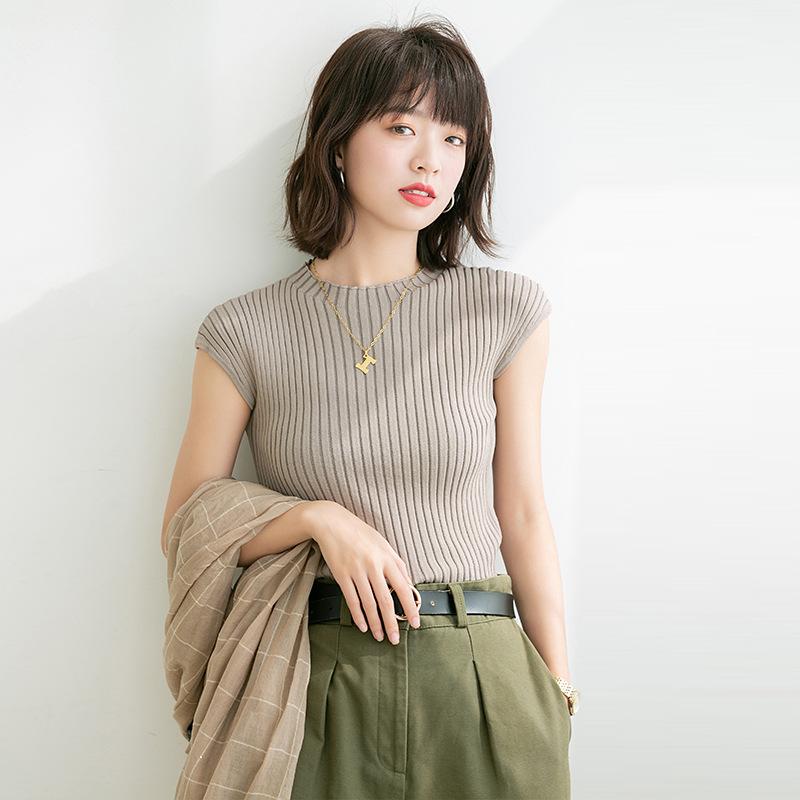 【missy shop】柔中帶剛上衣-F9299
