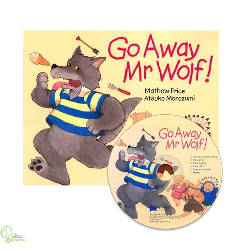 Go Away Mr Wolf (1平裝+1CD)(韓國JY Books版) Saypen【禮筑外文書店】[75折]