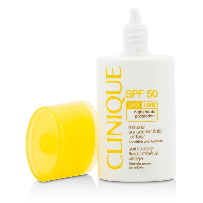 倩碧 - 輕感礦物臉部防曬乳 SPF 50敏感肌膚
