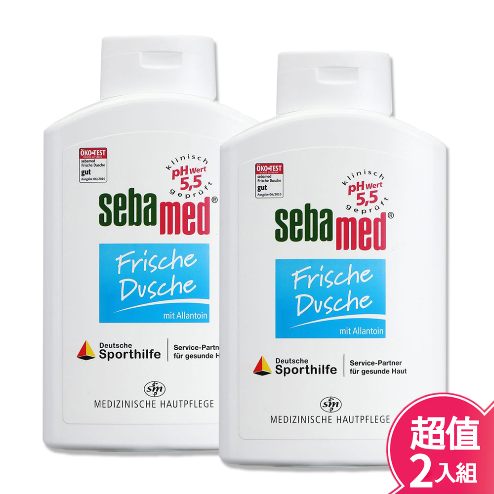 SebaMed 施巴 運動沐浴乳(活力麝香) 400ml-2入