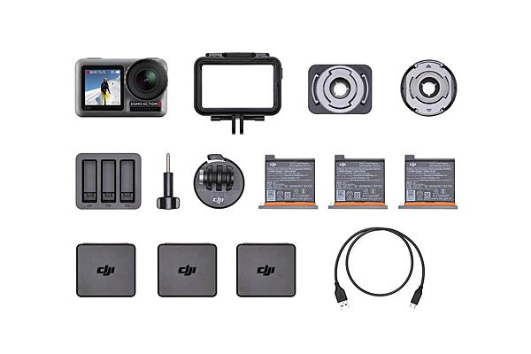【】DJI Osmo Action +《充電管家套裝》雙螢幕 11M防水 超強防手震 4K/60P HDR【公司貨】