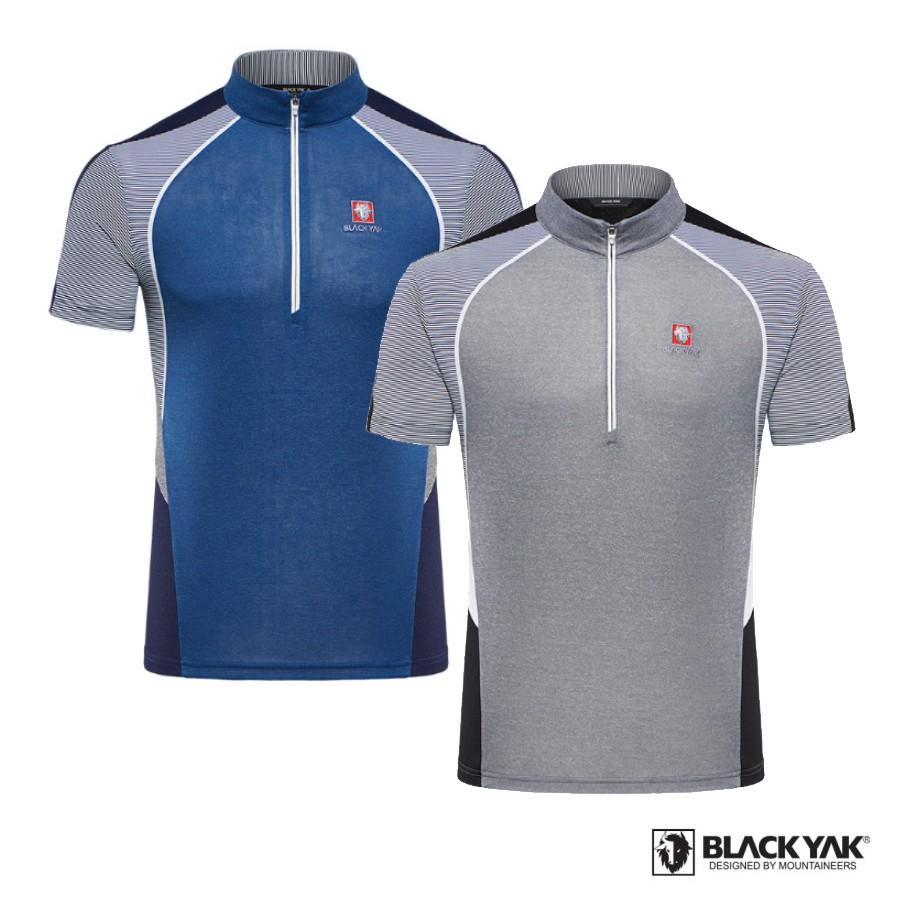 【BLACKYAK】男YAK ICE WINNER短袖上衣[二色可選]涼感上衣  BY181MC813