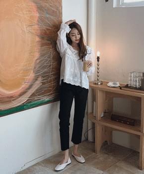 韓國空運 - World Date Cotton Pants 長褲