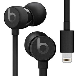 Beats urBeats3 Lightning 黑 耳道式耳機 線控