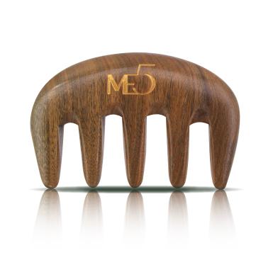 【ME5】天然綠檀原木梳