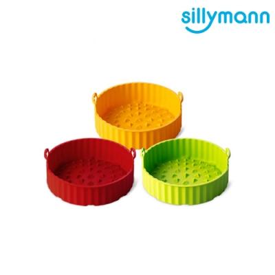 sillymann 韓國 100% 鉑金矽膠氣炸鍋烘烤籃 M