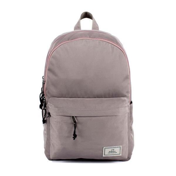 J II 後背包 水洗雙拉鍊後背包 芋頭紫 6298-6