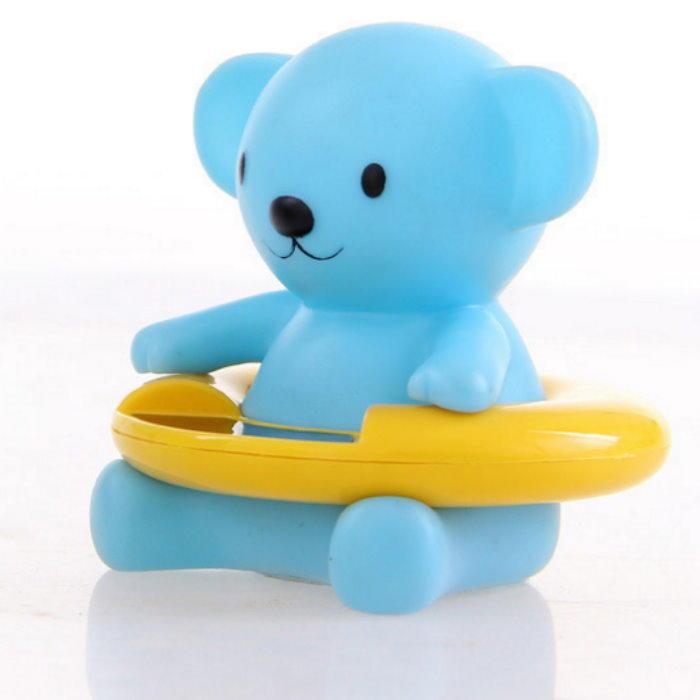 藍色熊寶貝電子測溫計 寶寶洗澡水溫計 測溫計 湯溫計【DX355】  123便利屋