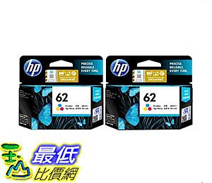 [COSCO代購] W127597 HP 62 彩色墨水匣 二入組