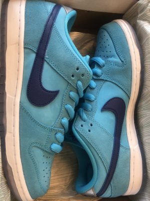 8.5全新 Nike SB Dunk Low Blue Fury 藍 BQ6817-400