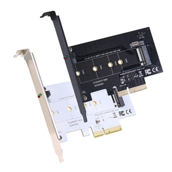 【全店95折最高折一萬】伽利略 Digifusion M2PE41 PCI-E 4X M.2 PCI-E 1埠 SSD 轉接卡(顏色隨機出貨)