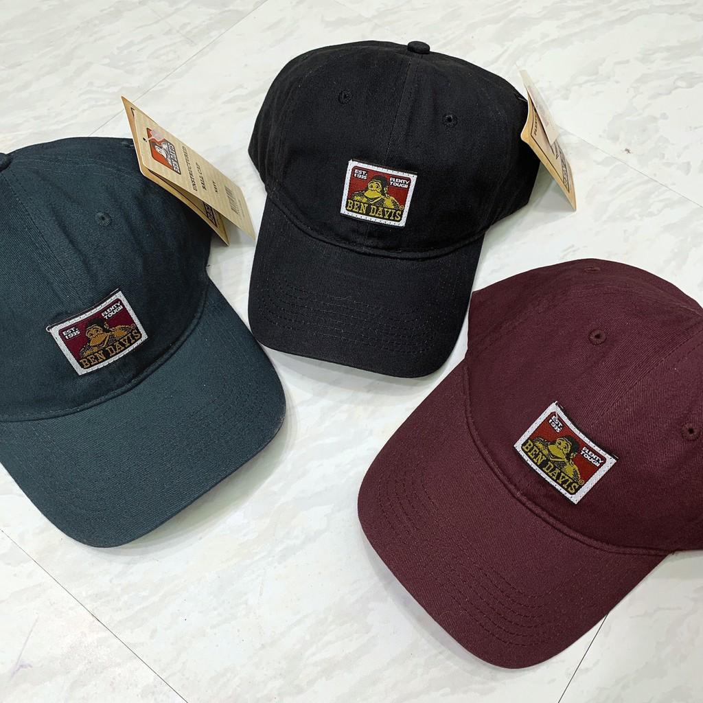 Ben Davis Cap 黑 酒紅 藍 日系 猩猩 街頭品牌 復古風 老帽 毛帽 帽子 水洗 DOT聚點