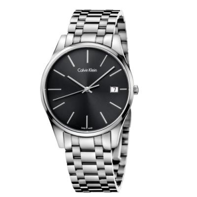 Calvin Klein CK 簡約率性時尚腕錶(K4N21141)40mm