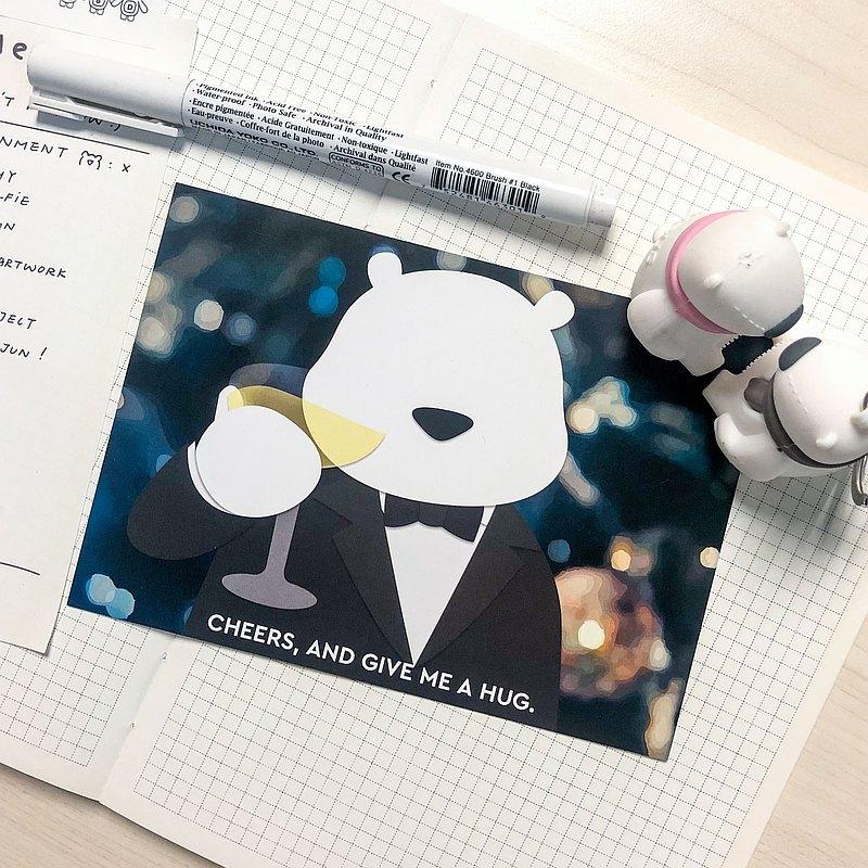 HUGUS Cheers   名信片 Postcard   香港原創品牌