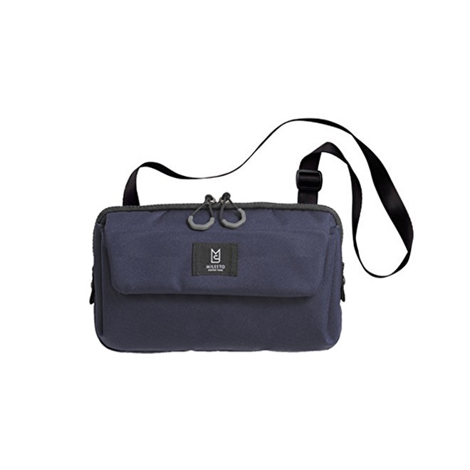 MILESTO TROT MUITI SHOUDER BAG 旅行收納包 藍