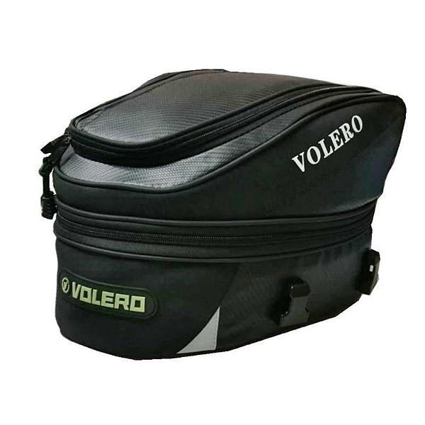 摩托車後尾箱RR9019機車頭盔包碳釬維車尾包可裝頭盔 一木良品