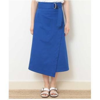 TARA JARMON ラップスカート その他 スカート,ブルー