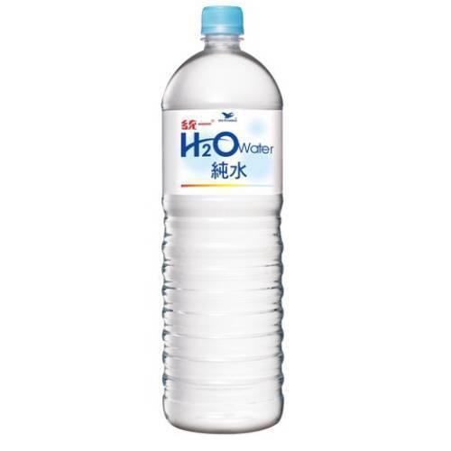 統一 H2O純水(1500ml/瓶)[大買家]