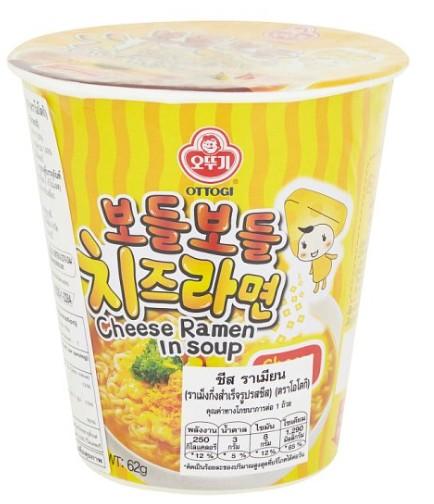 韓國 不倒翁OTTOGI 起司湯杯麵